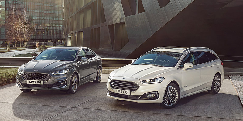 Ford Mondeo Hybrid bei Ford Hempel