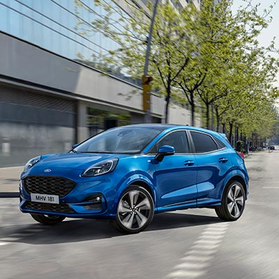 Ford Puma 2019-Frontansicht