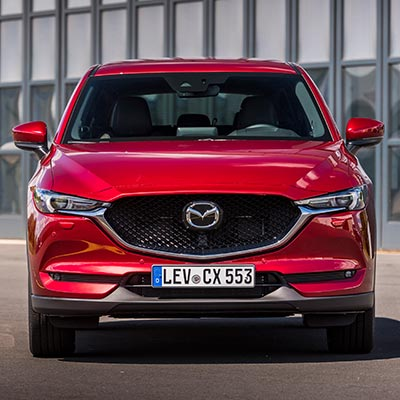 Mazda CX-5 2020 Skyactiv in soul red crystal