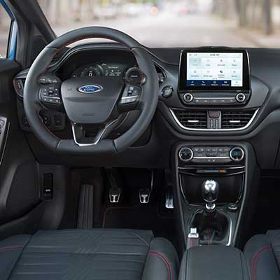 Interieur Ford Puma im Modell ST-Line